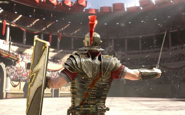 Ryse: Son of Rome. Must see this.