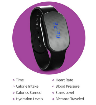 Healbe GoBe - First and only wearable device that measures your calories you consume and burn through your skin.